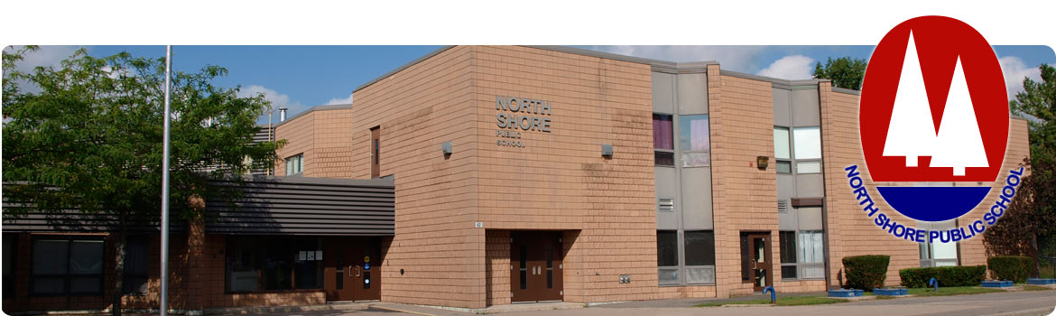 Image of front view of school