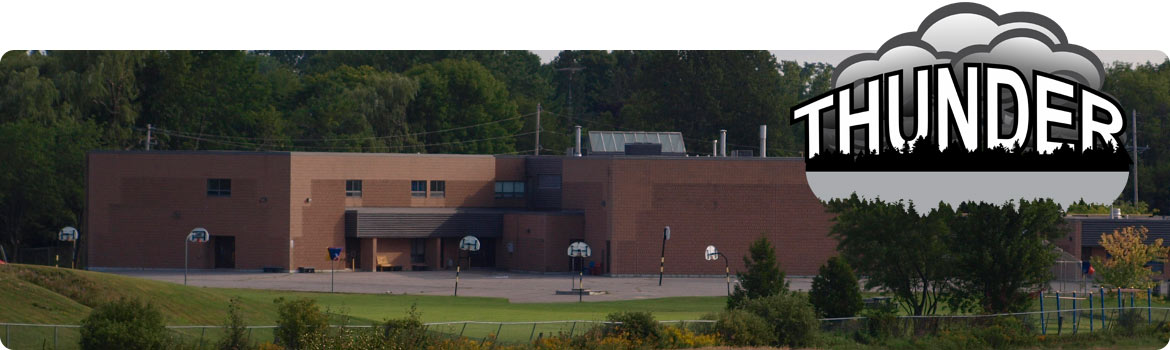 Image of playground and back field of school