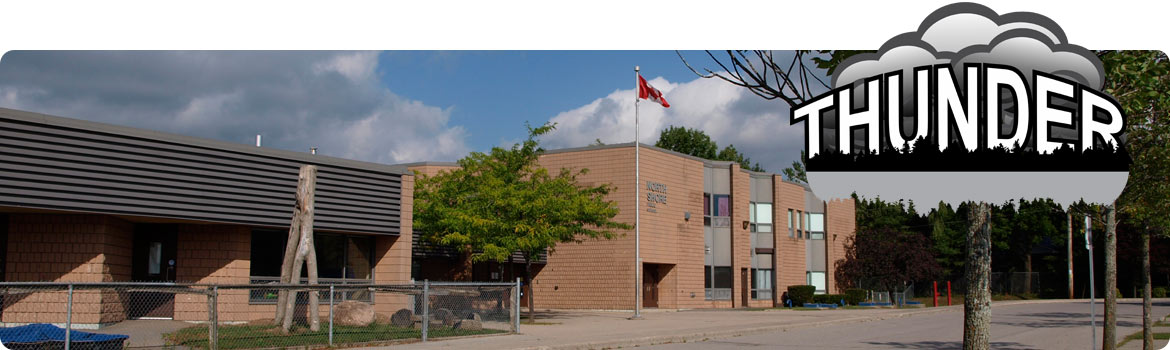 Image of side view of the school